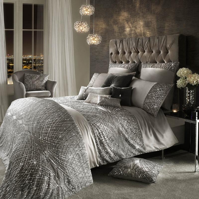 Silver Kylie Minogue Esta Bedding