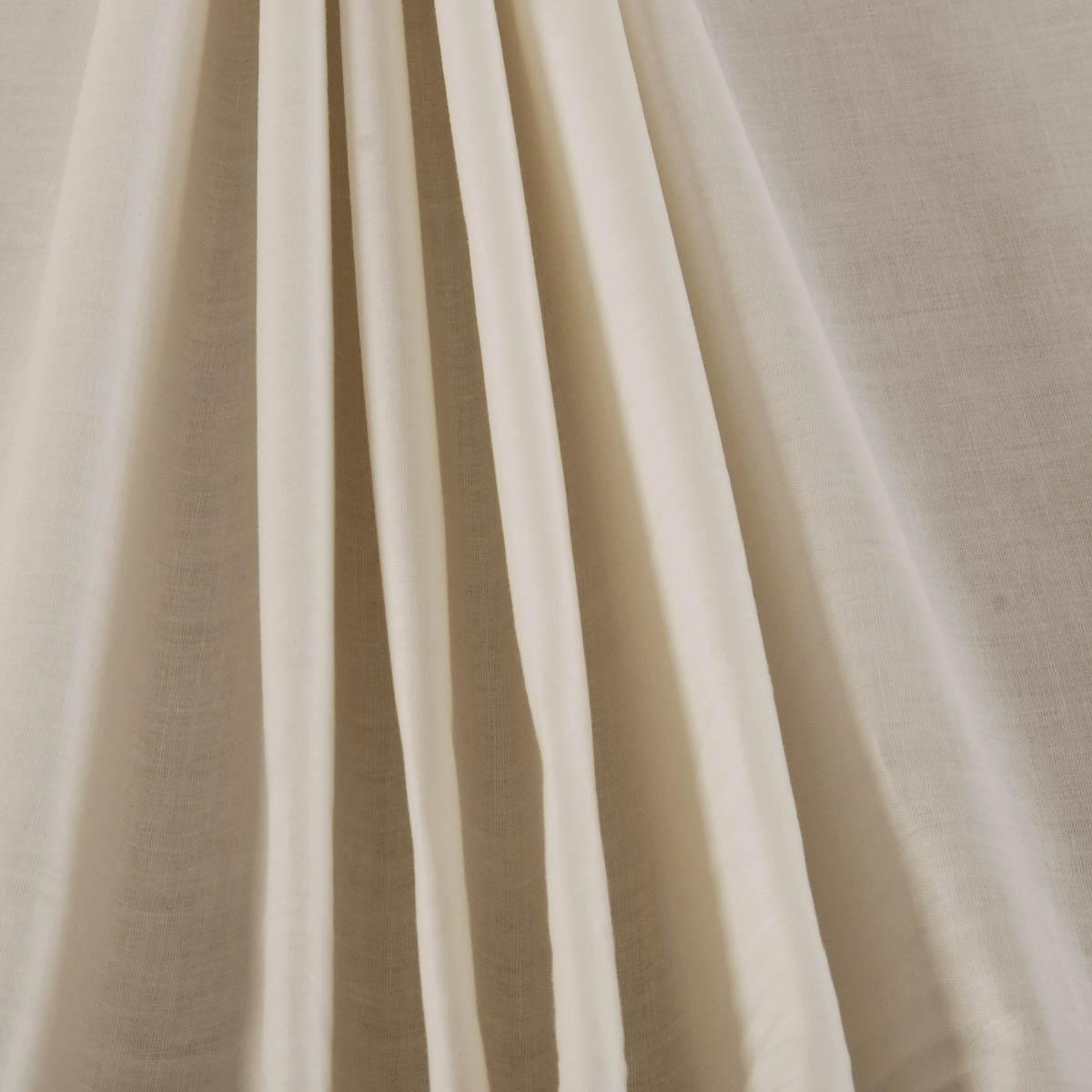 Cream 60 Wide Poly Cotton Curtain Lining