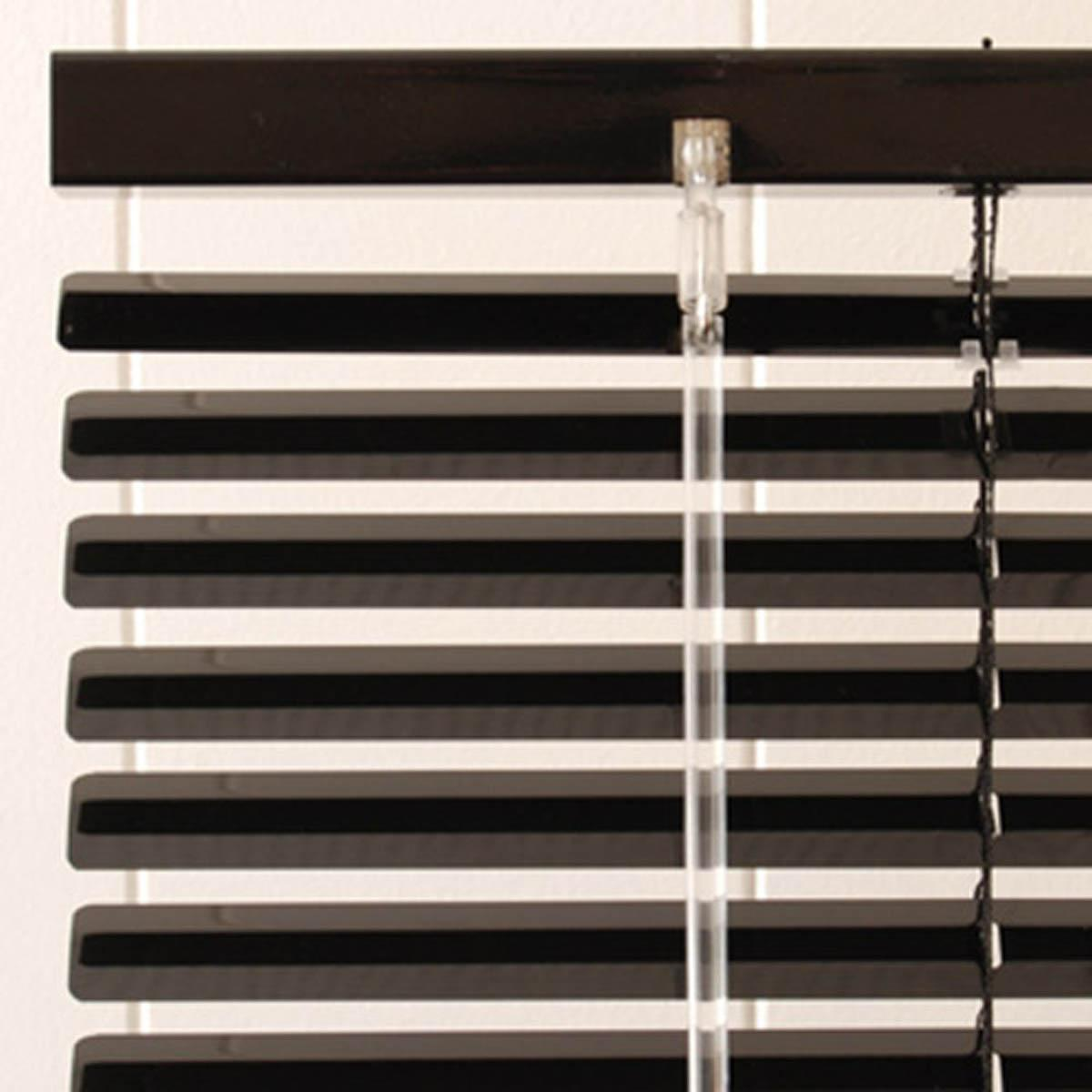 Metal Venetian Blinds in Black