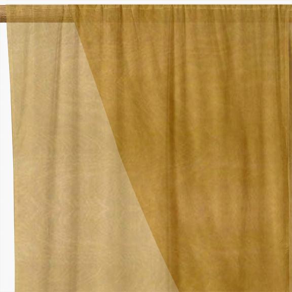 Gold Organza Fabric