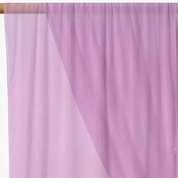 Lilac Organza Fabric