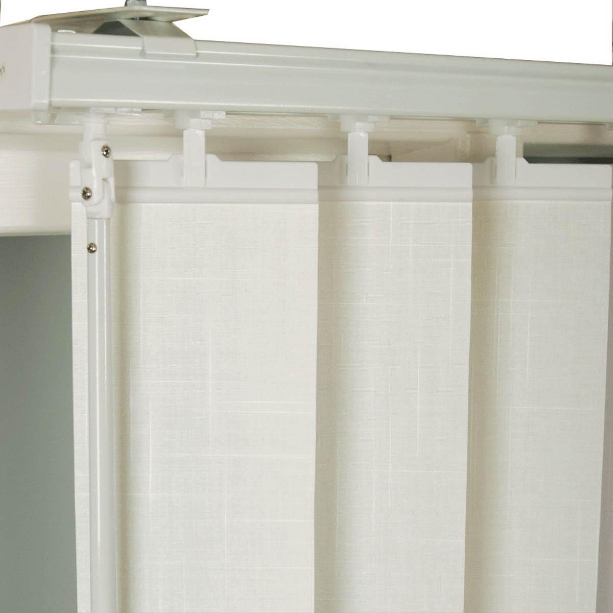 White Vertical Blinds  54 inch drop