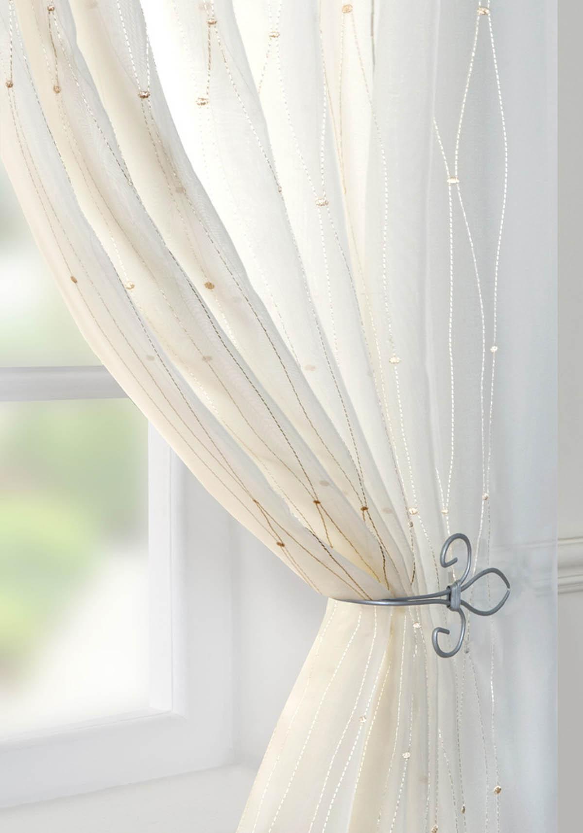 Harmony Voile Curtain Panel