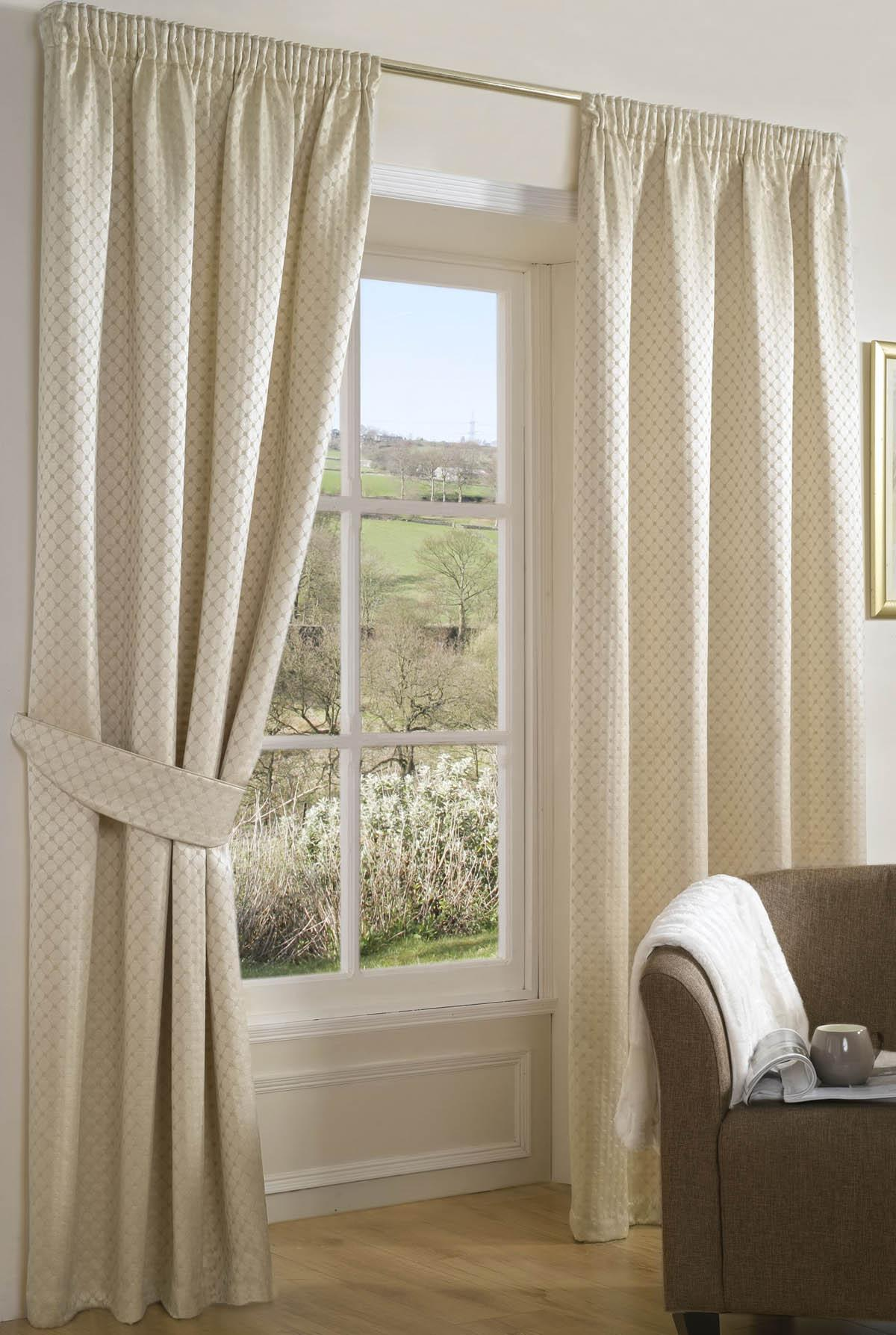 Ivory Bollinger Ready Made Curtains