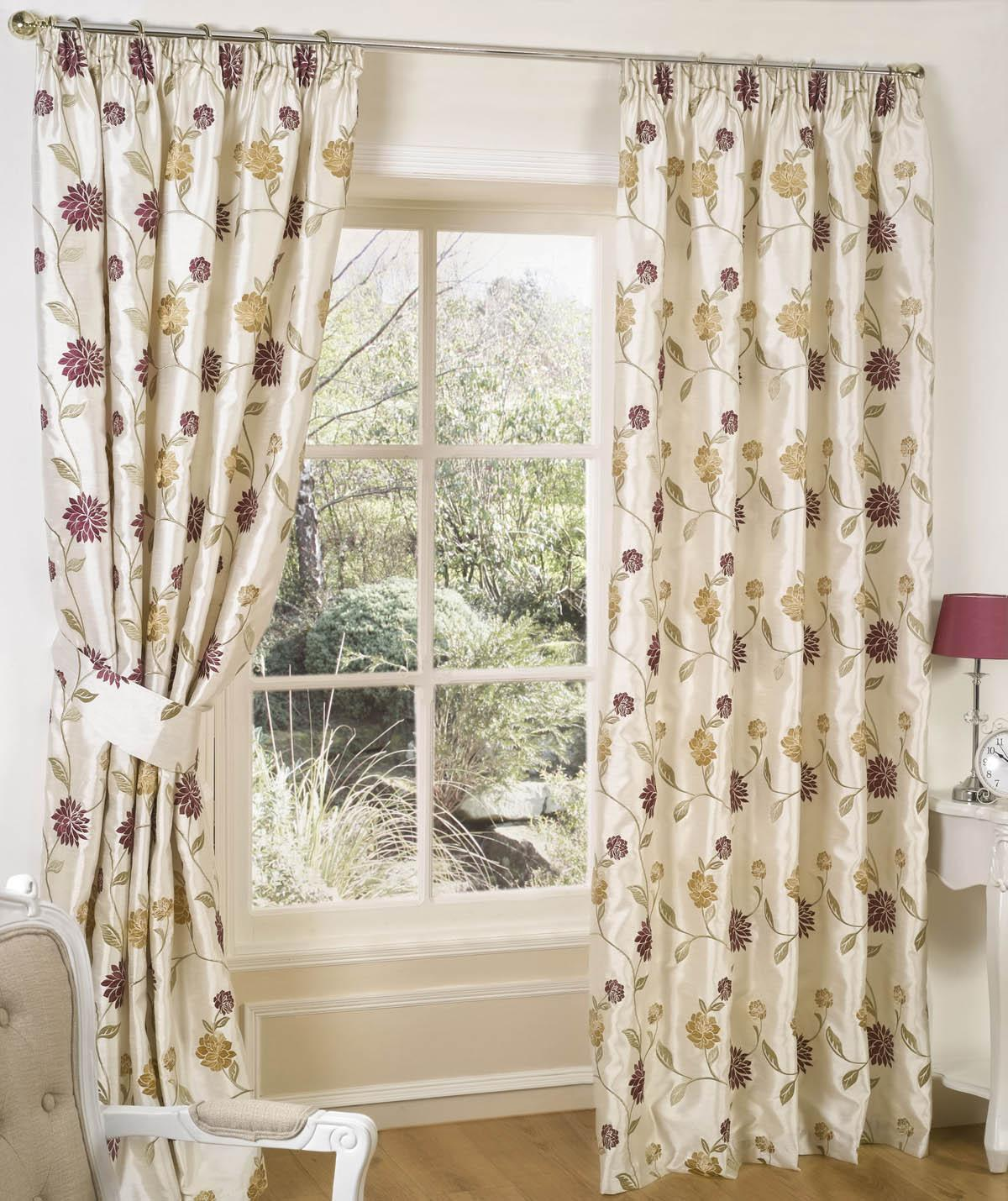 Chintz Tuscany Ready Made Curtains