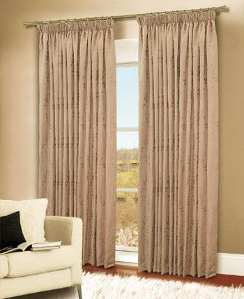 Gold Turin Ready Made Curtains