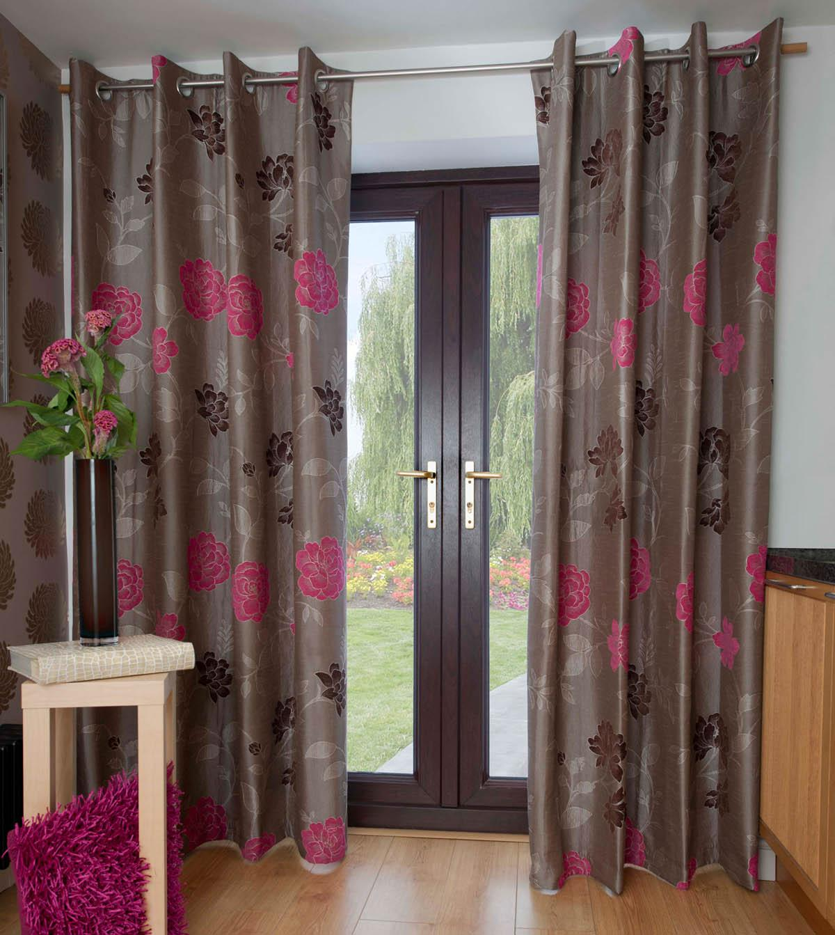 Cocoarose Casablanca Ready Made Eyelet Curtains