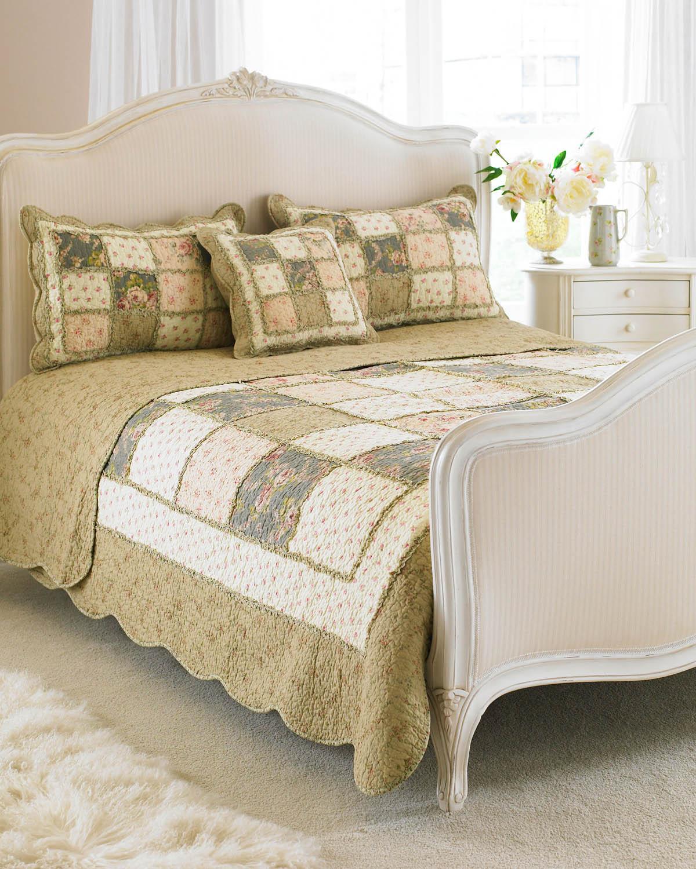 Beige Bedspread