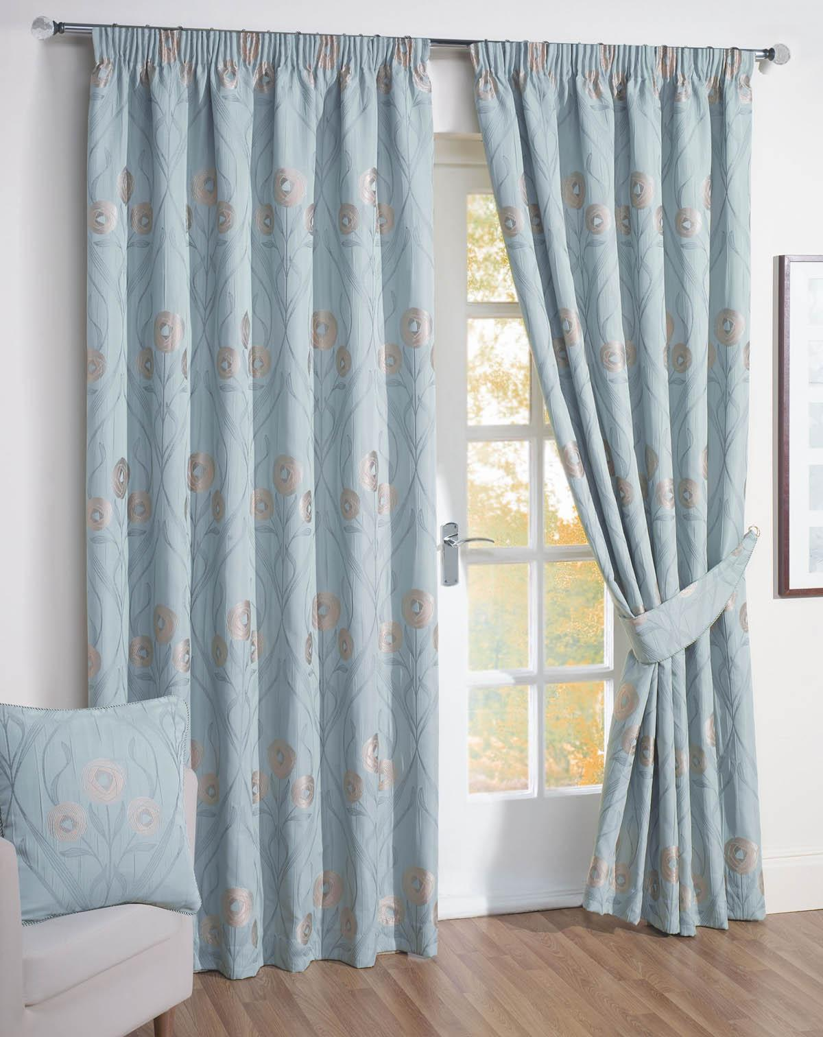 Duckegg Montrose Ready Made Curtains