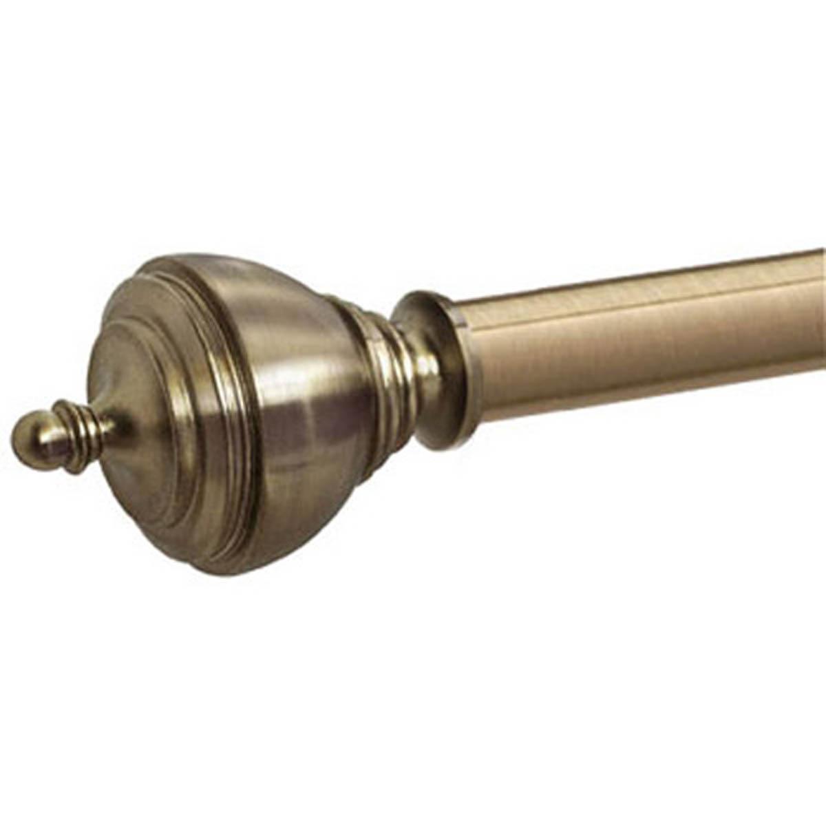 Antique Brass Vienna 28mm Eyelet Curtain Pole