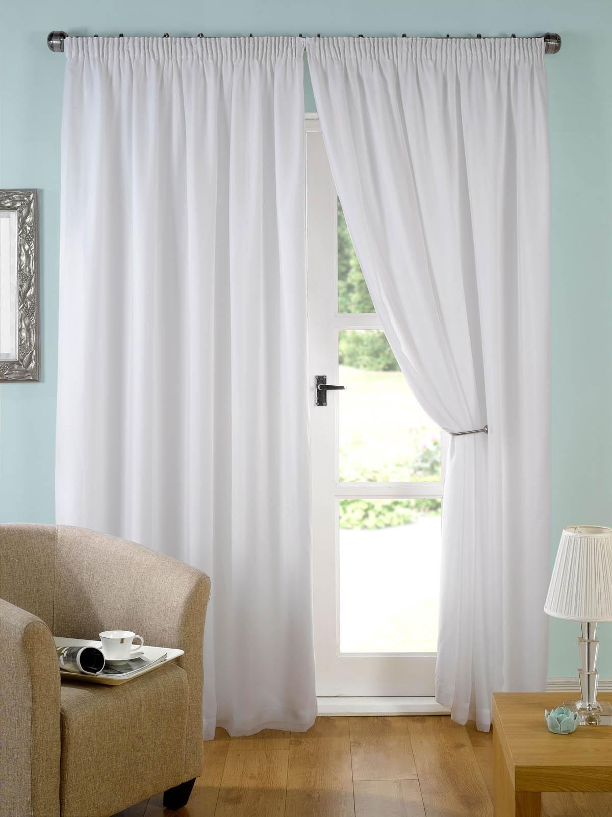 White Evie Curtains
