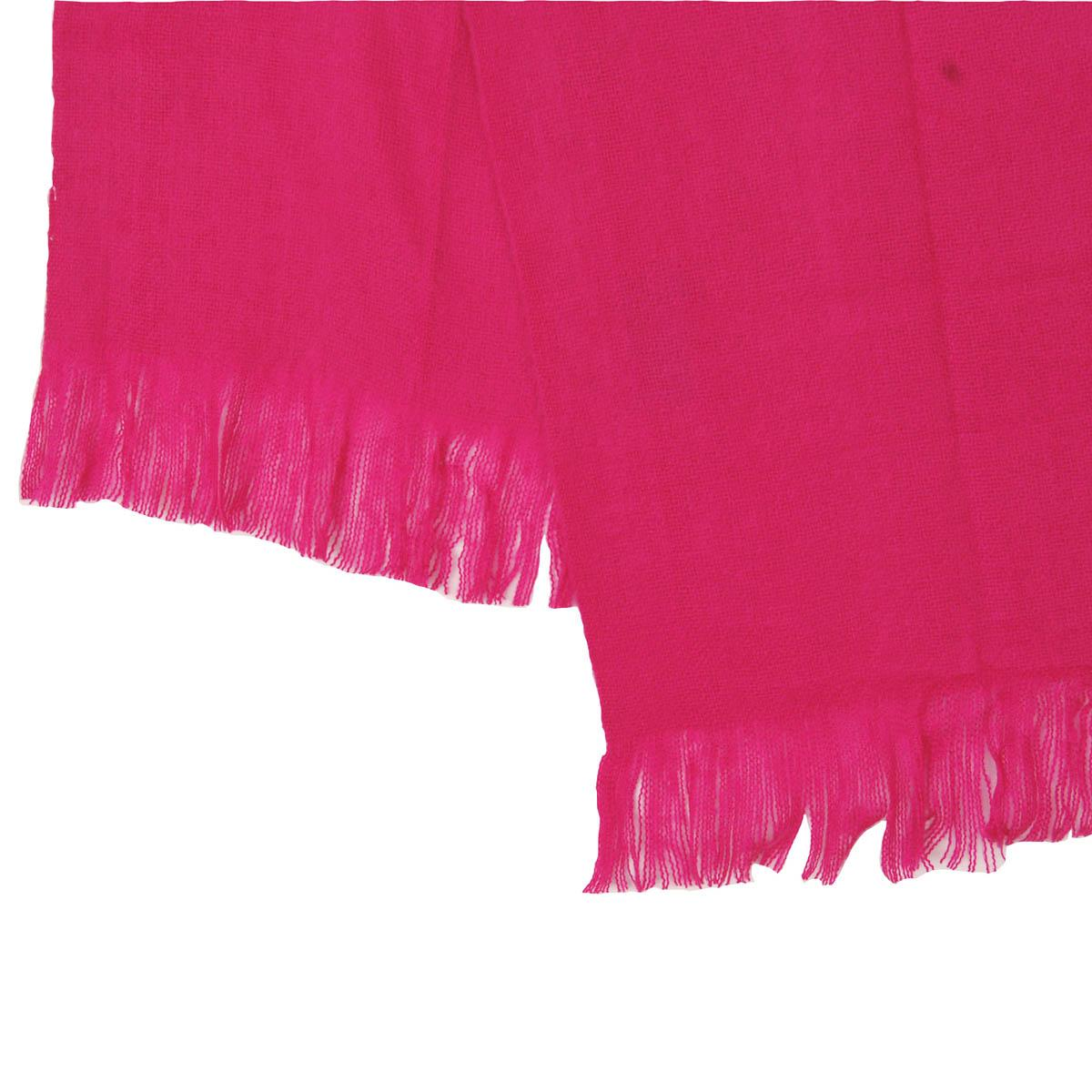 Fuchsia Woven Bed Scarf