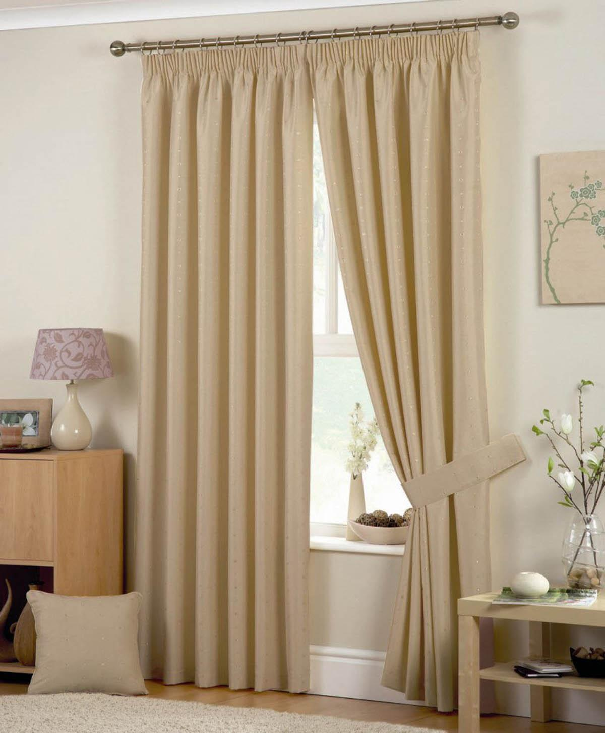 Coffee Hudson Ready Made Curtains