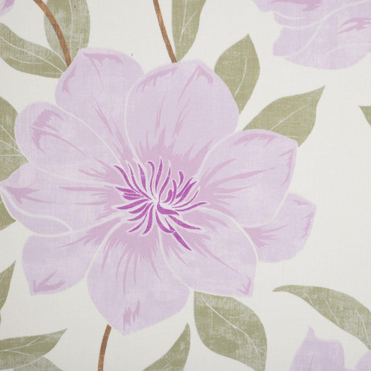 Floral Burst Roman Blind In Pink Free Uk Delivery