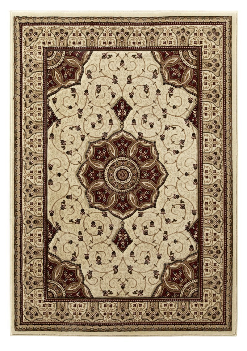 Heritage 4400 Rug In Cream Red Free Uk Delivery Terrys
