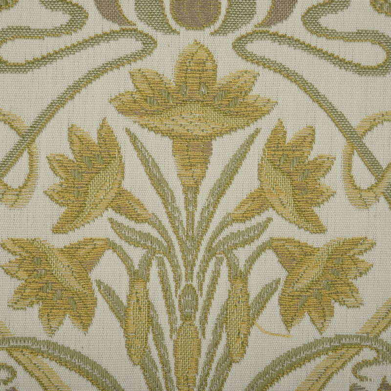 Tiffany Curtain Fabric In Sand | Free UK Delivery | Terrys ...