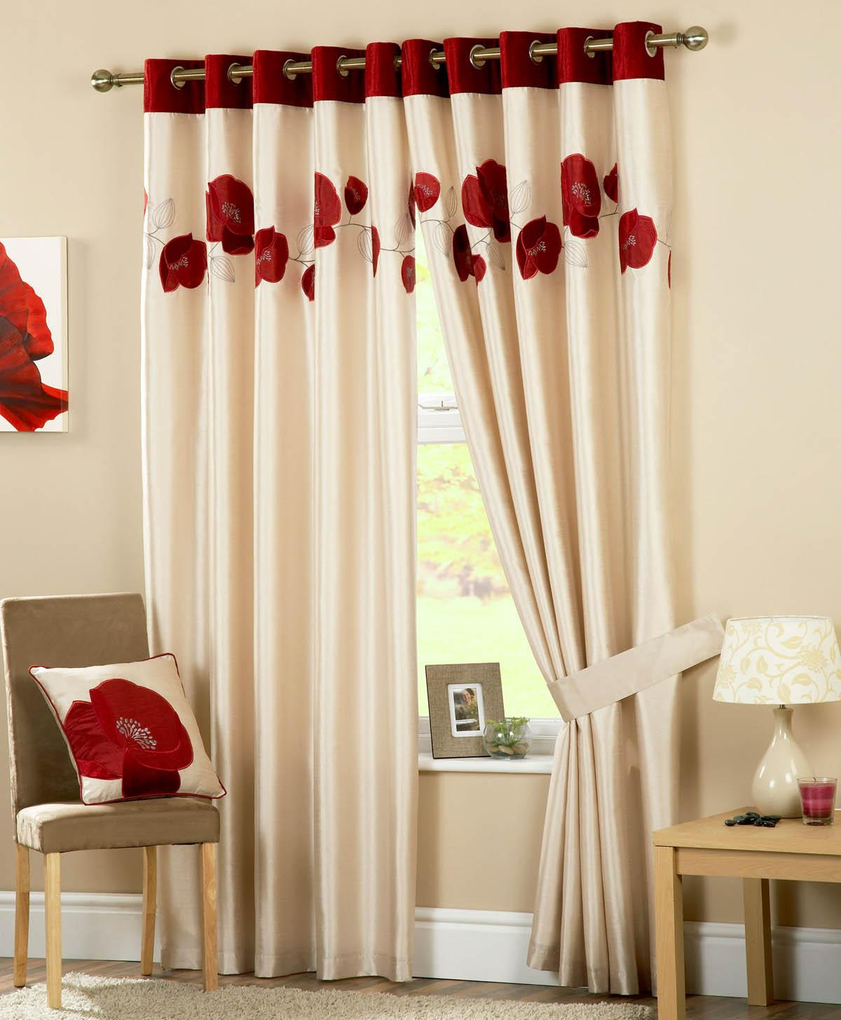 Amazing Danielle Ready Made Eyelet Lined Curtains