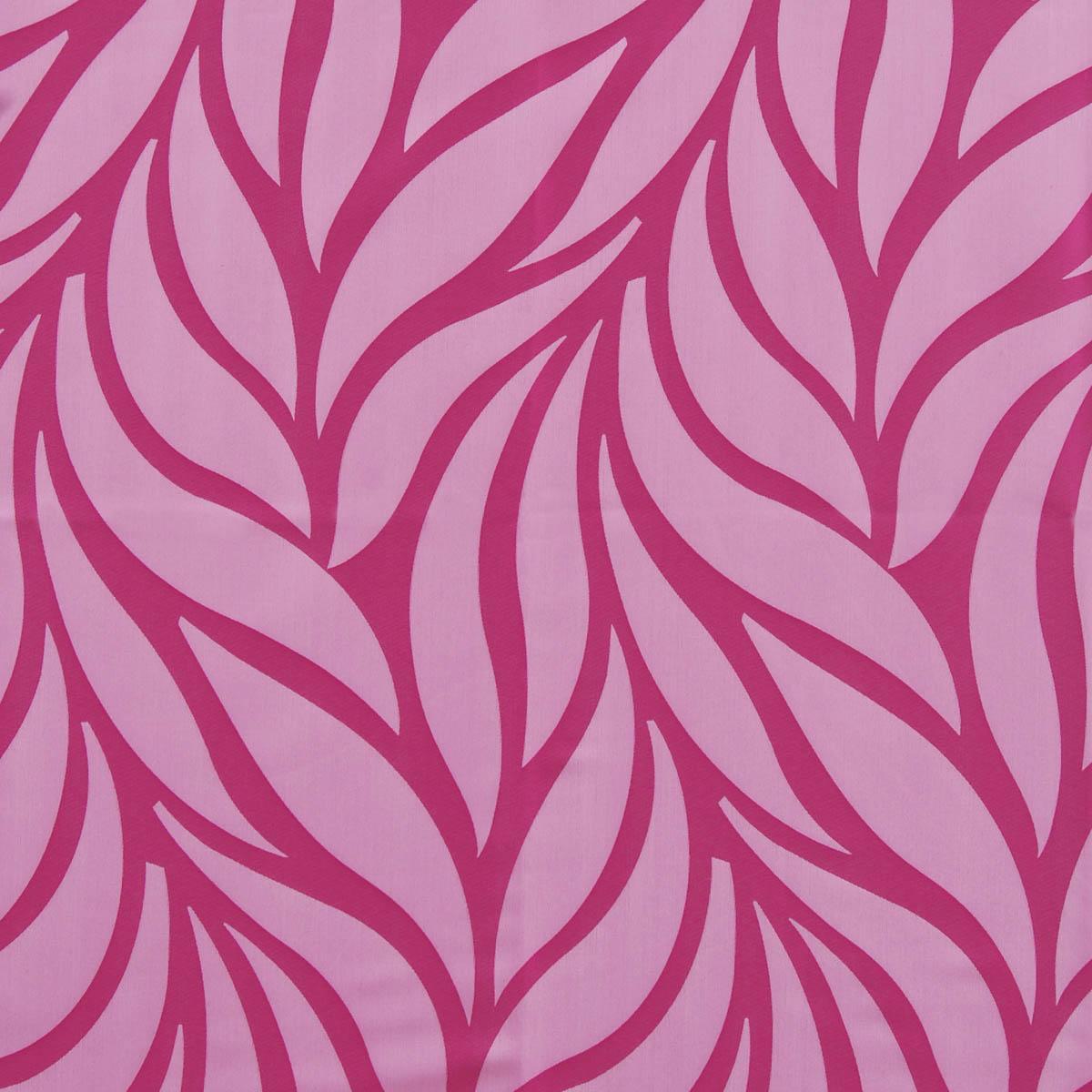 Hot pink curtains - Pampas Jacquard Curtain Fabric