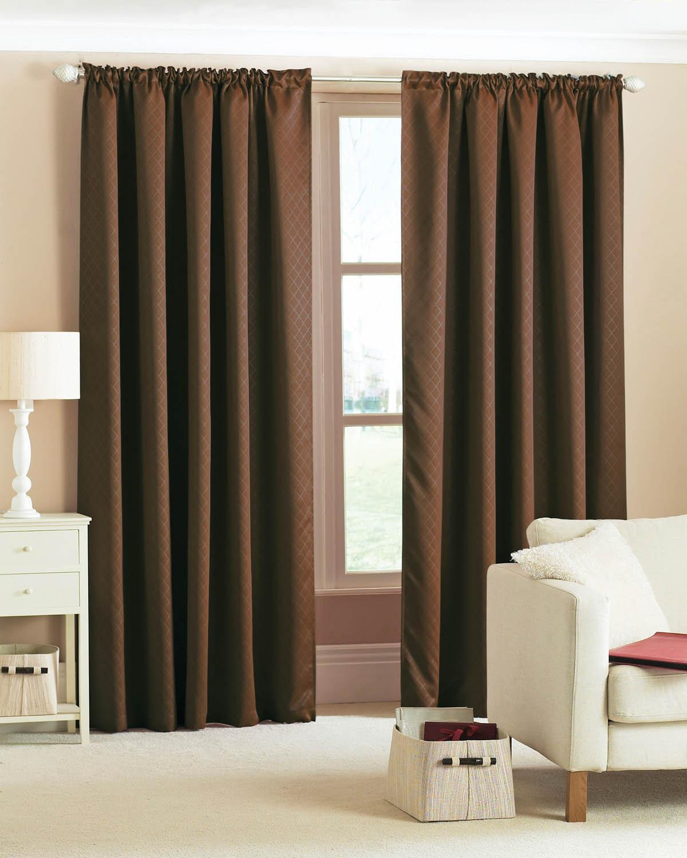 Diamond Woven Blackout Curtains