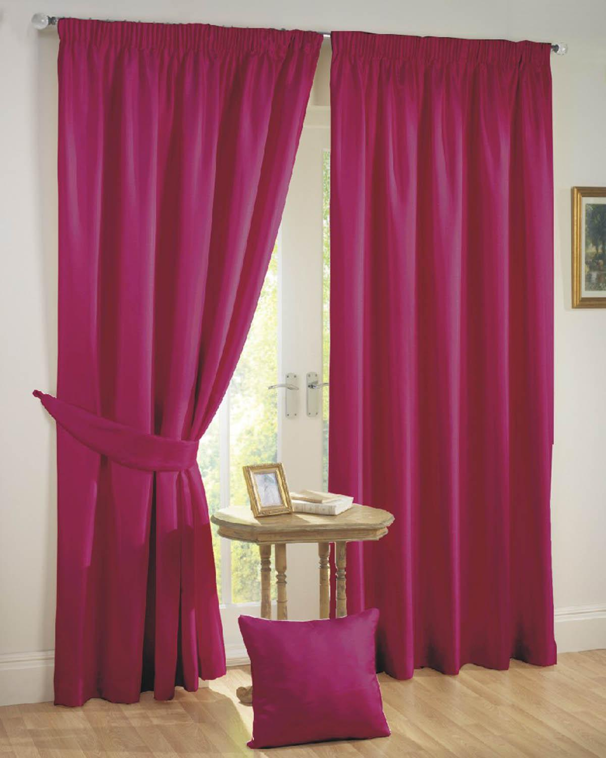Hot pink curtains - Pink Curtains Sunset Ready Made Blackout Curtains Pink Curtains Winda 7 Furniture