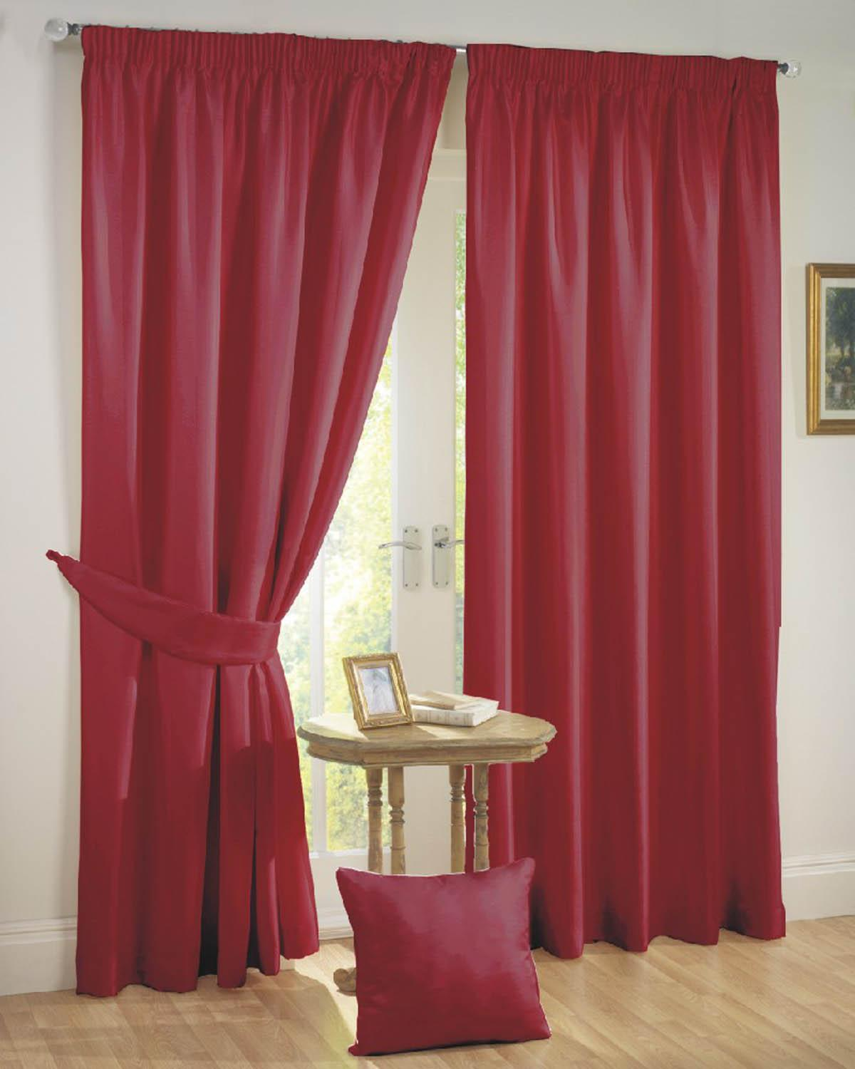 Sunset Ready Made Curtains Red Free UK Delivery Terrys