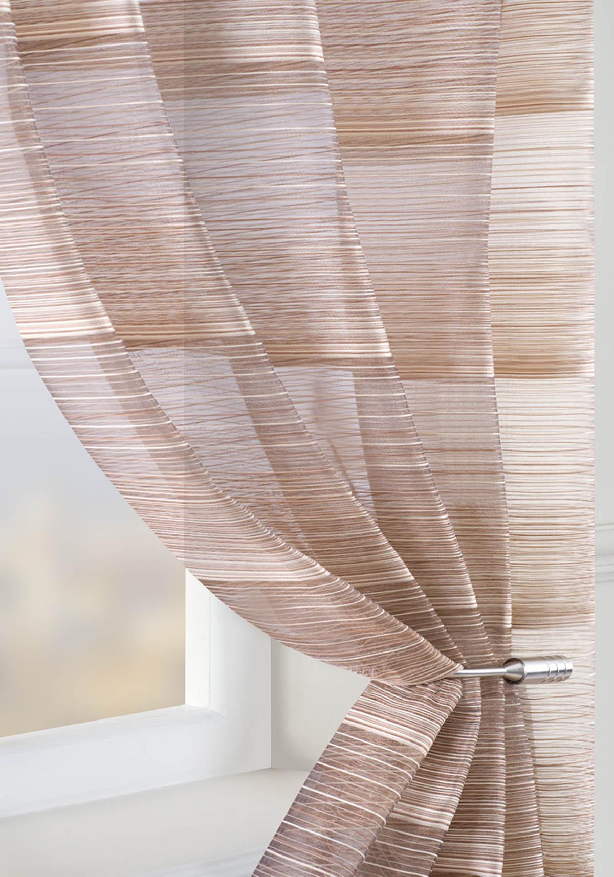 Strata voile curtain panel brown cheap green curtain voile uk