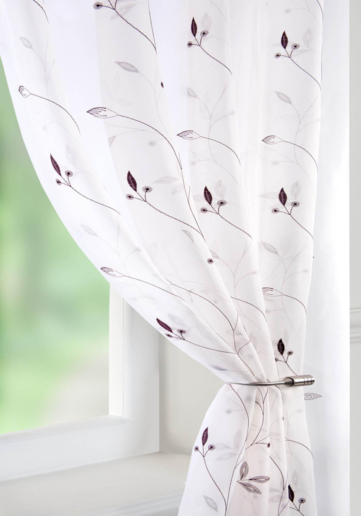 Voile curtain panel brown cheap green curtain voile uk delivery - Variety Voile Curtain Panel