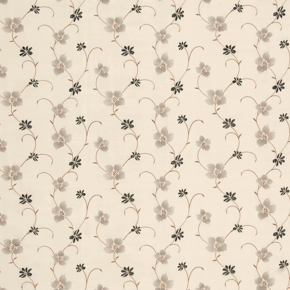 Zara Curtain Fabric Silver