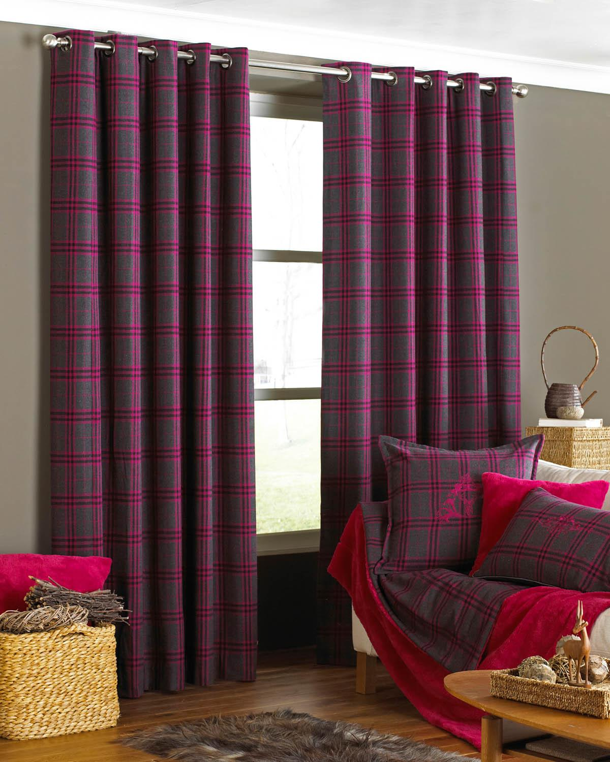 Next Bedroom Curtains Plum Curtains 66 X 90