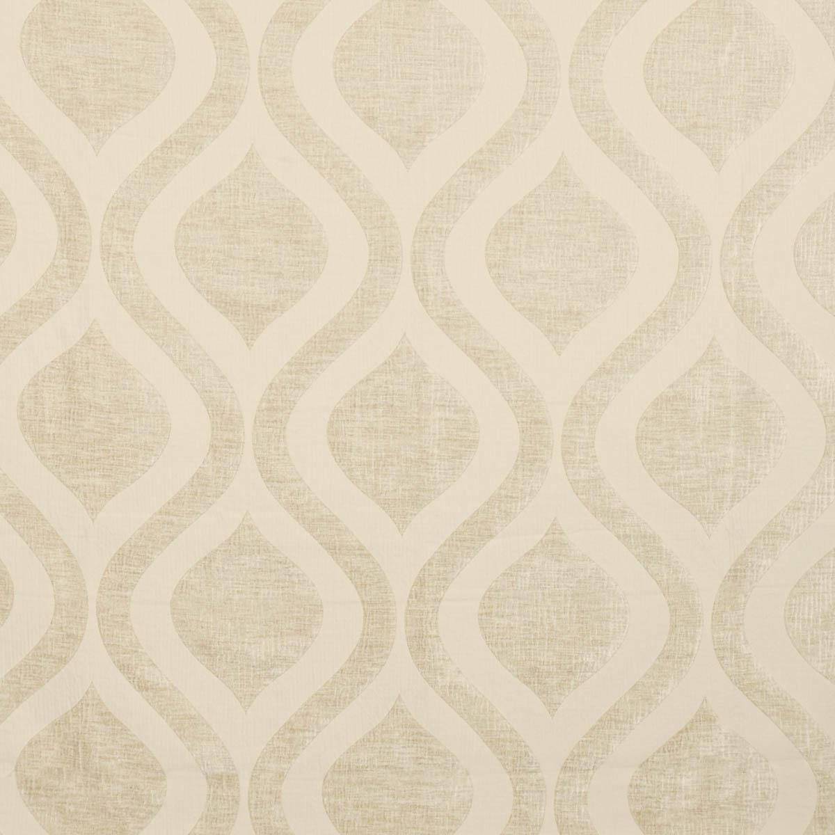 Horizon Curtain Fabric Parchment