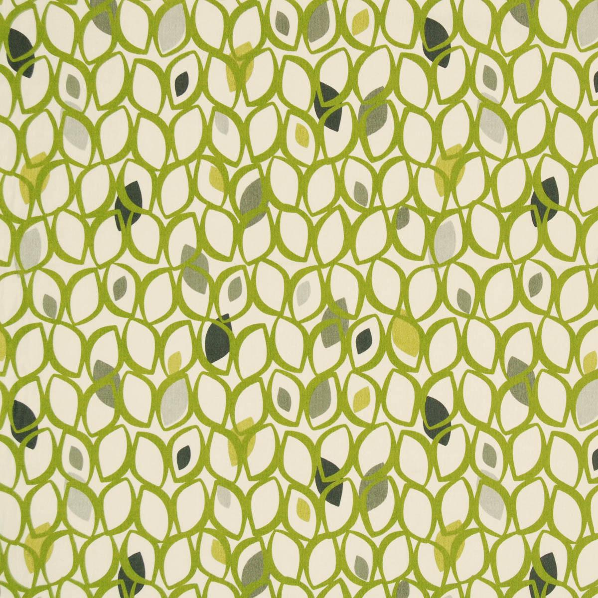 Cedar Curtain Fabric Lime | Free UK Delivery | Terrys Fabrics