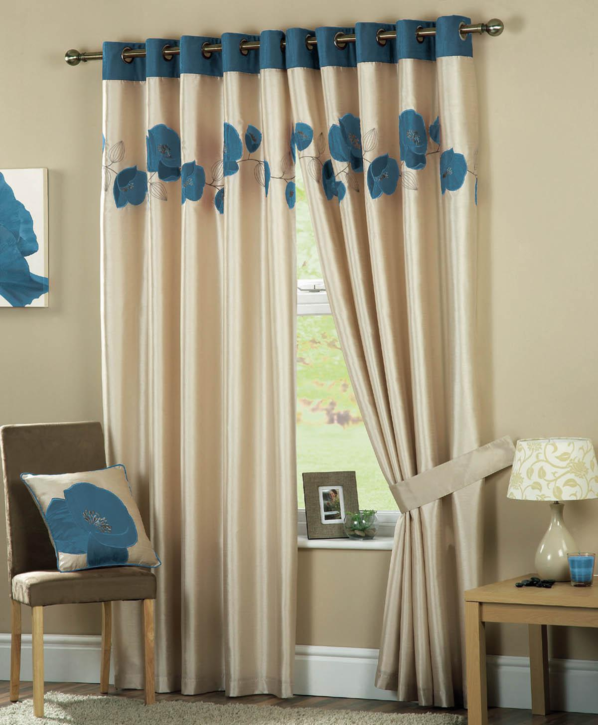 Living Room Curtains Uk Part - 41: Danielle Ready Made Eyelet Lined Curtains