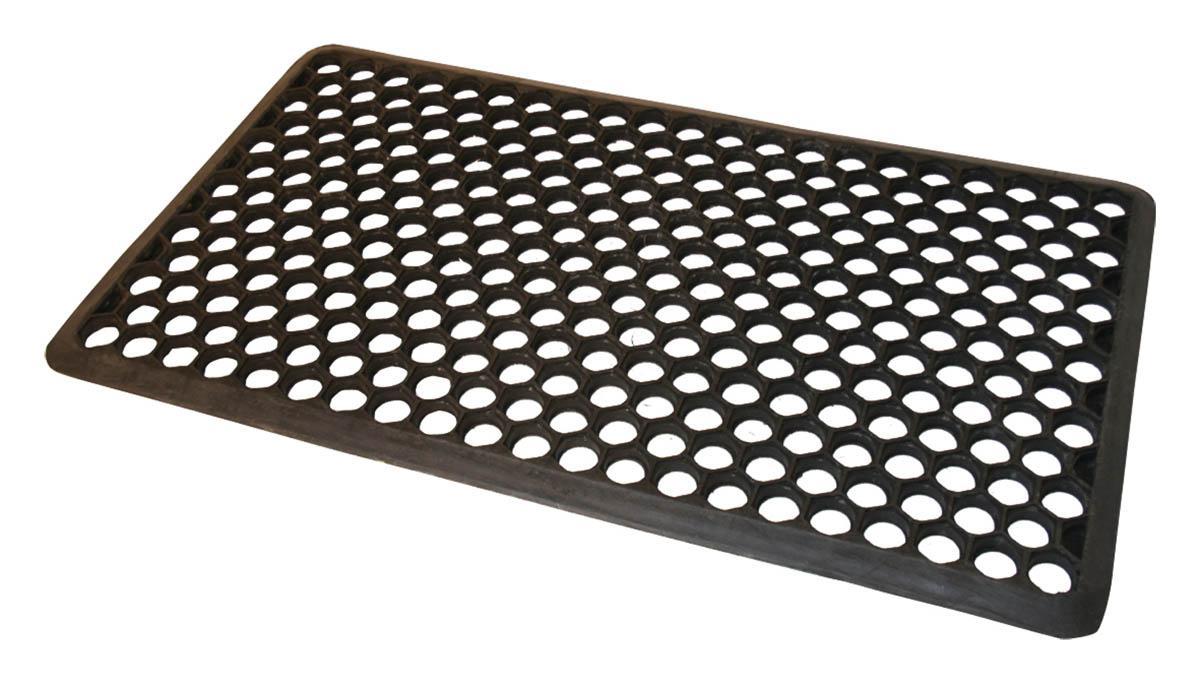 Marvelous Honeycomb Rubber Doormat