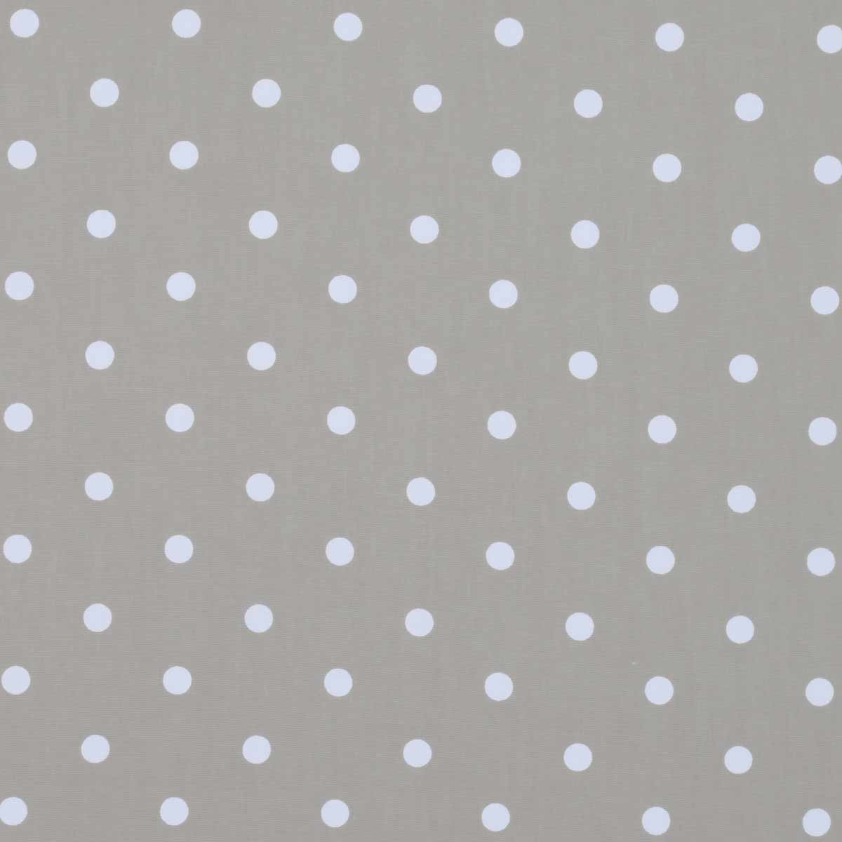 Gray and white polka dot curtains - Dotty Curtain Fabric