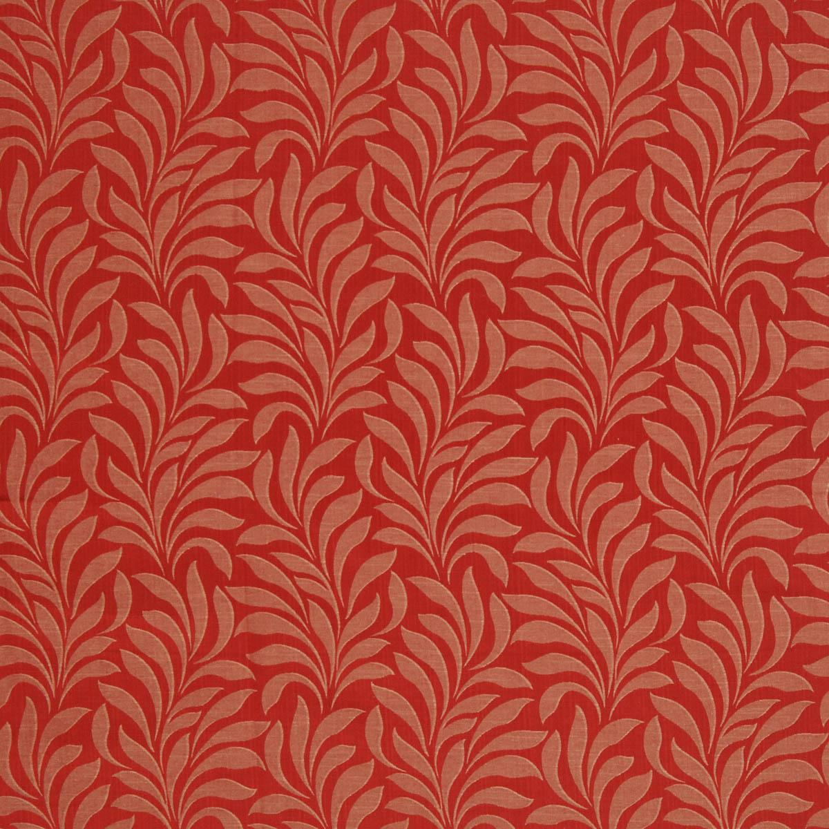 Bronte Curtain Fabric Scarlett