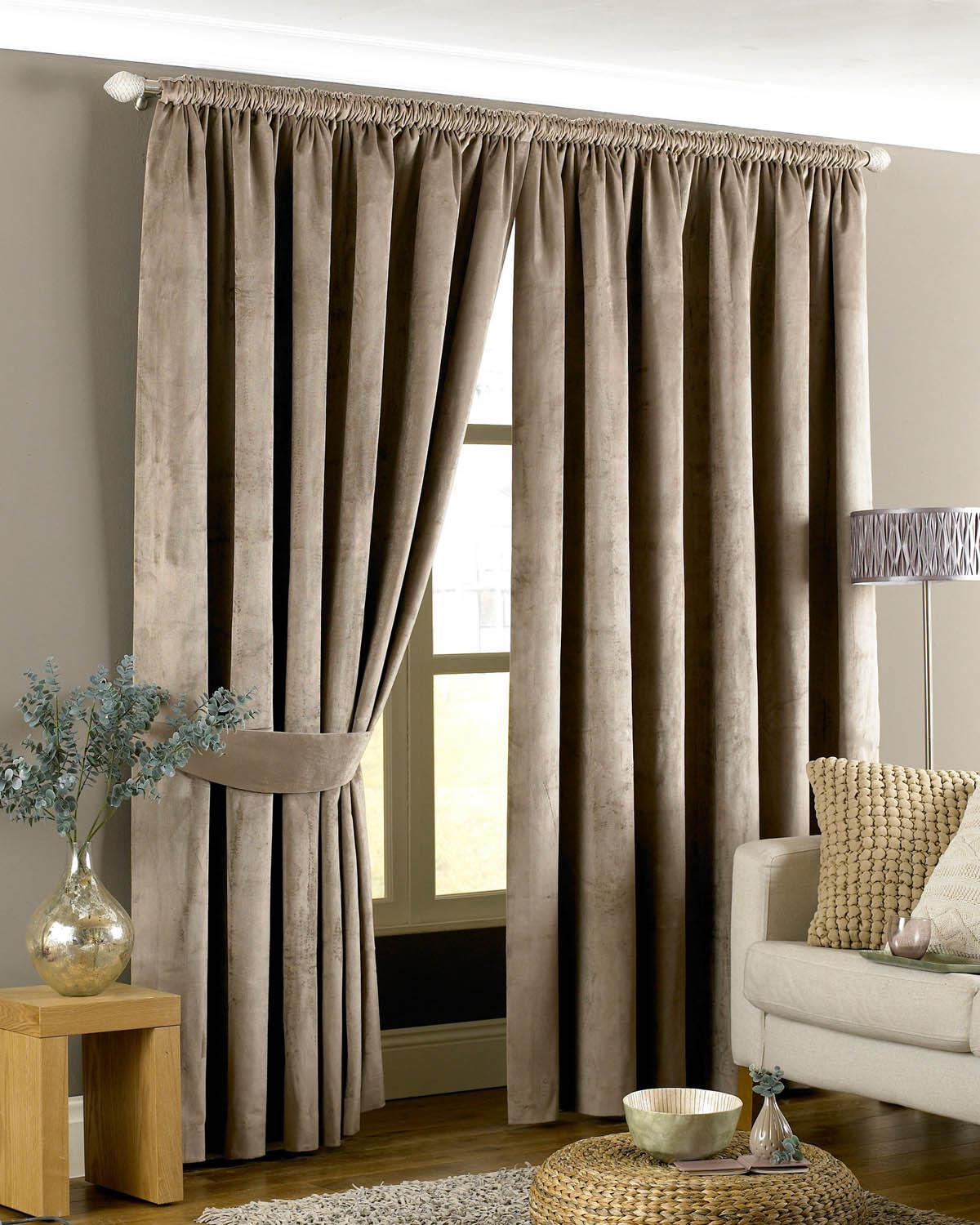 Curtains abstract made to measure felicia duckegg curtains - Emperor Ready Made Lined Curtains Taupe Uk Delivery