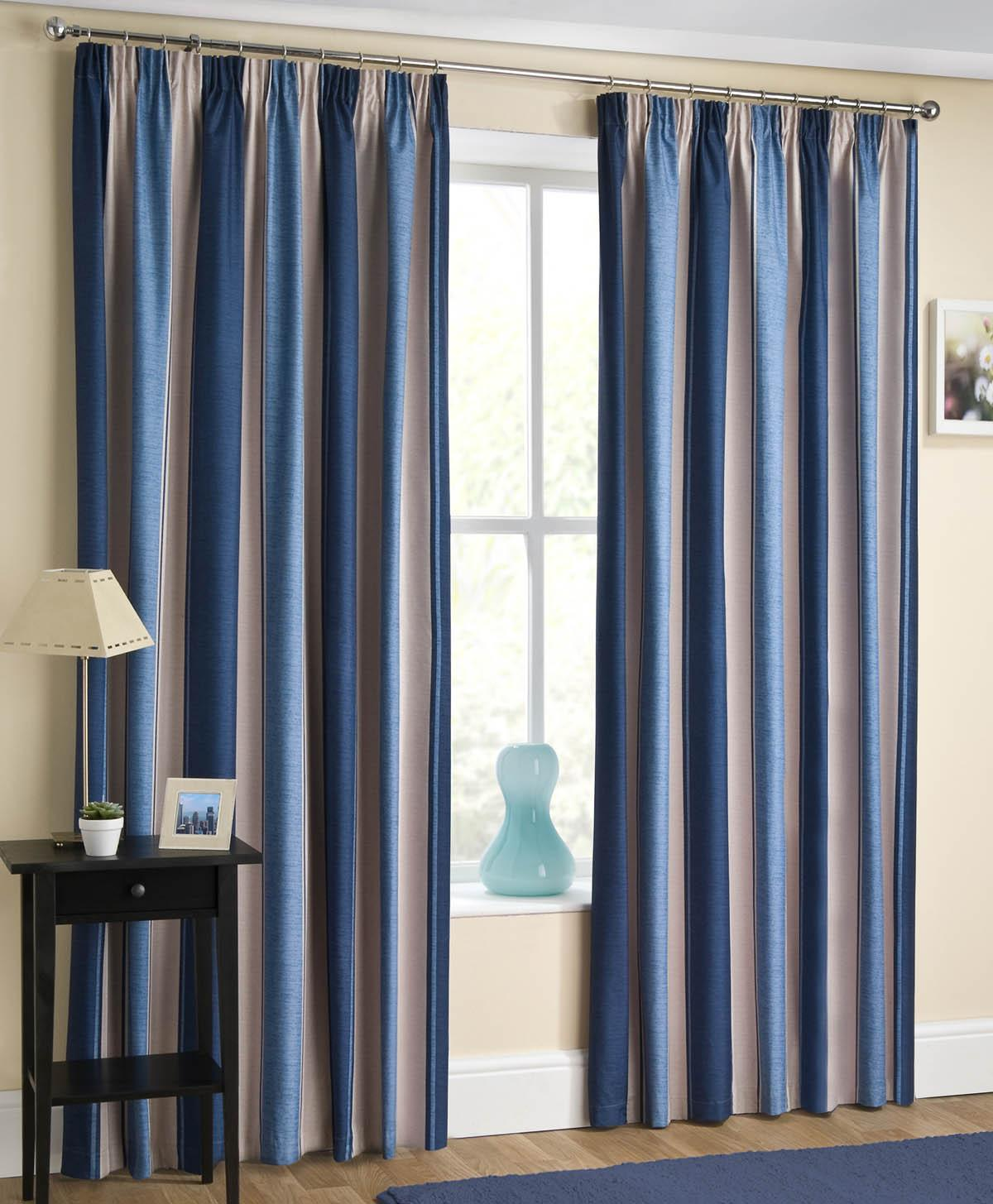 Twilight Blackout Curtain Navy