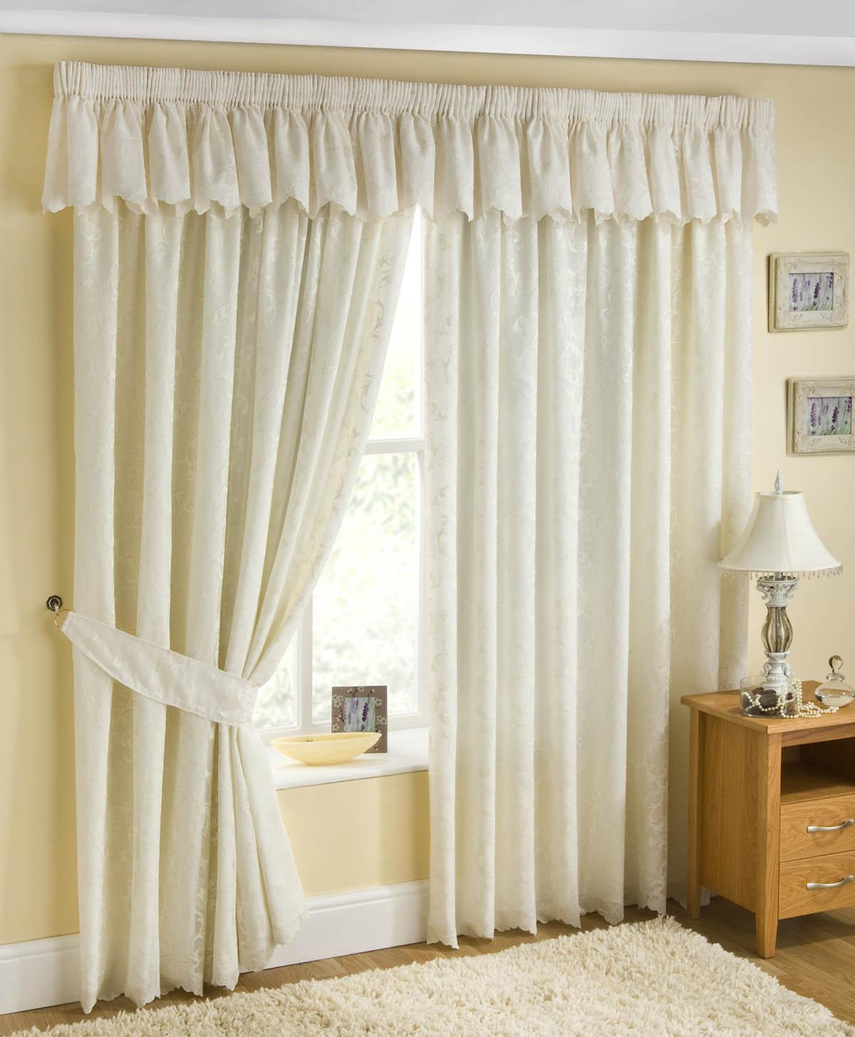 Perth Lined Voile Ready Made Curtain
