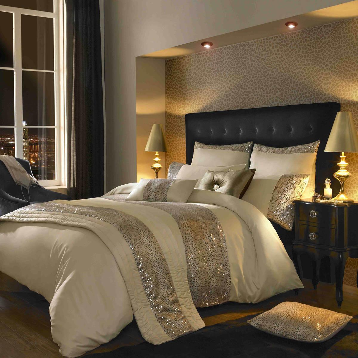 Leopard Print Wallpaper Bedroom Kylie Minogue Leopard Luxury Bedding Luxury Duvet Covers