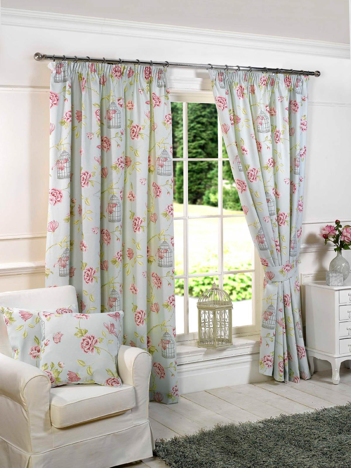 Pretty Curtains Living Room Charlotte Ready Made Lined Curtains Duckegg Blue Luxury Headed