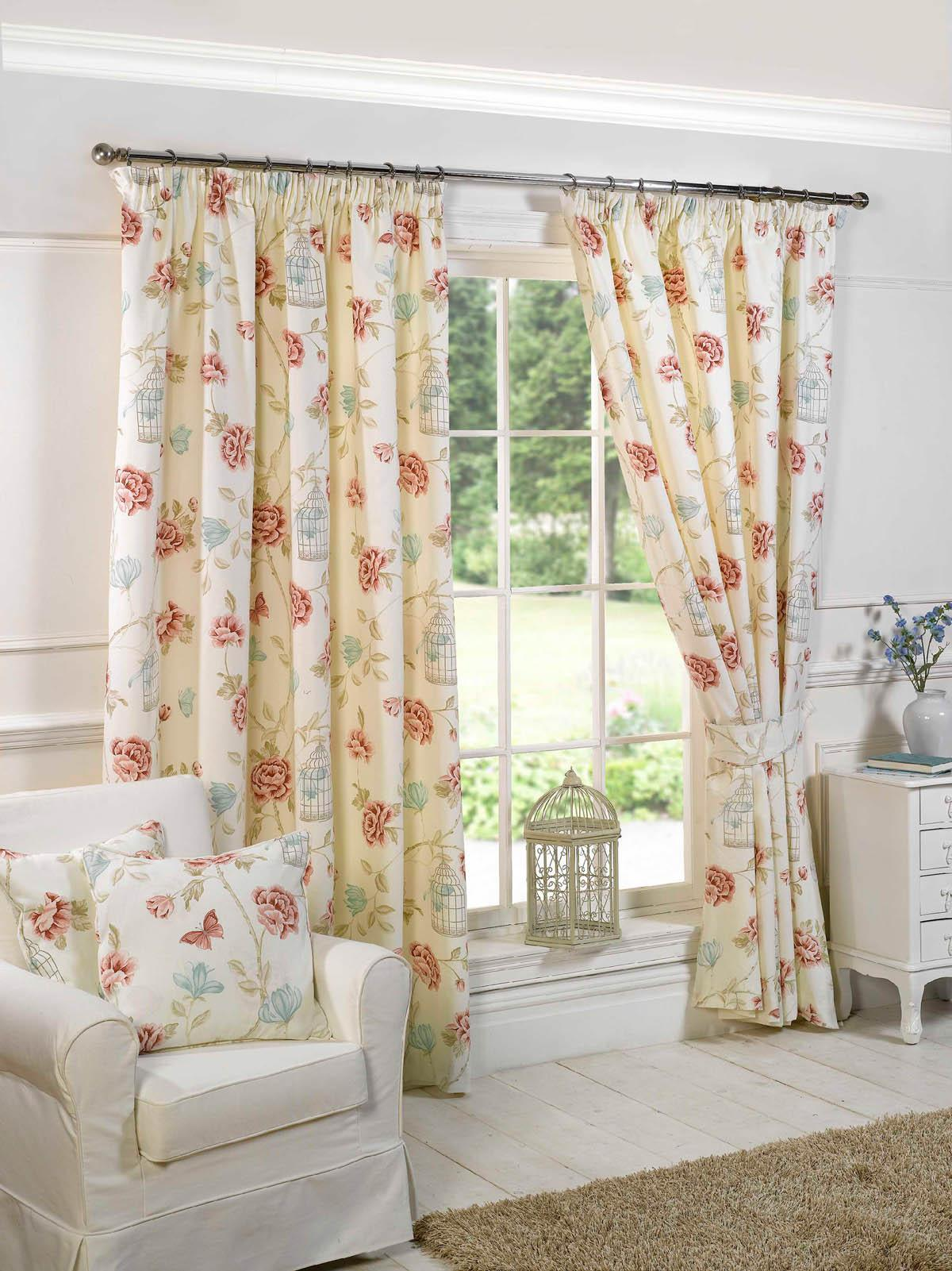 charlotte lined curtains natural free uk delivery terrys fabrics charlotte ready made lined curtains cream