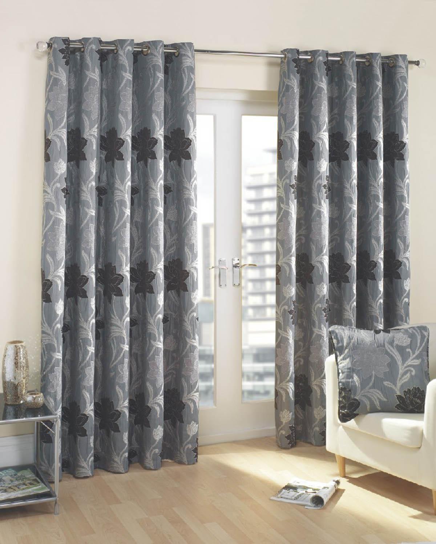 Good Verdi Ready Made Lined Eyelet Curtains