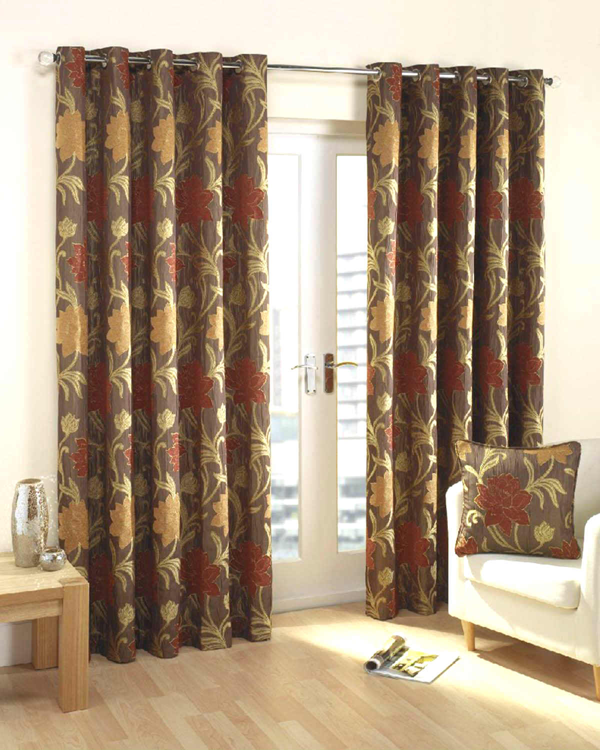 Living Room Curtains Uk Part - 26: Verdi Ready Made Lined Eyelet Curtains