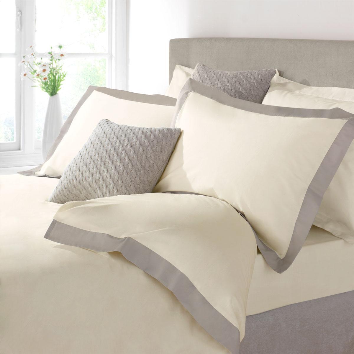 Portland luxury bedding by julian charles cream luxury duvet covers