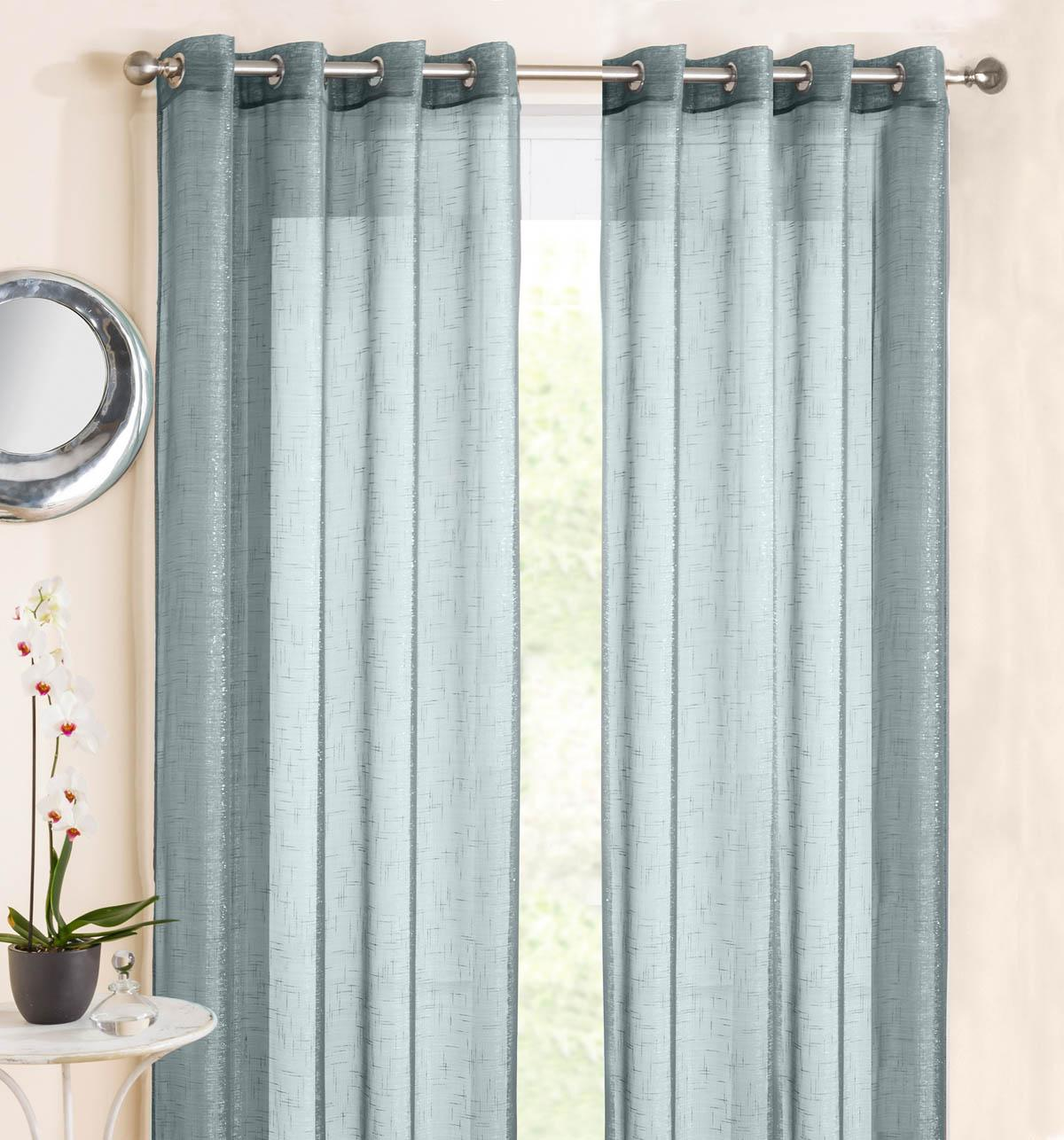 Voile curtain panel brown cheap green curtain voile uk delivery - Marrakesh Eyelet Voile Panel