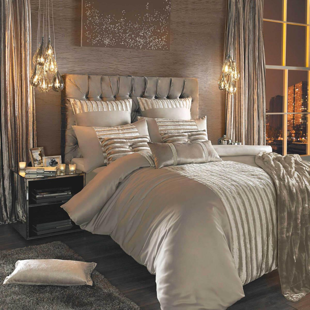 Kylie minogue luette bedding praline free uk delivery - Housse de couette beige ...