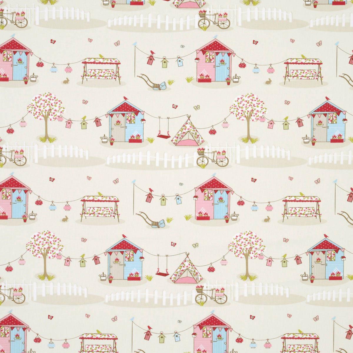 Candy Summer Holidays Curtain Fabric