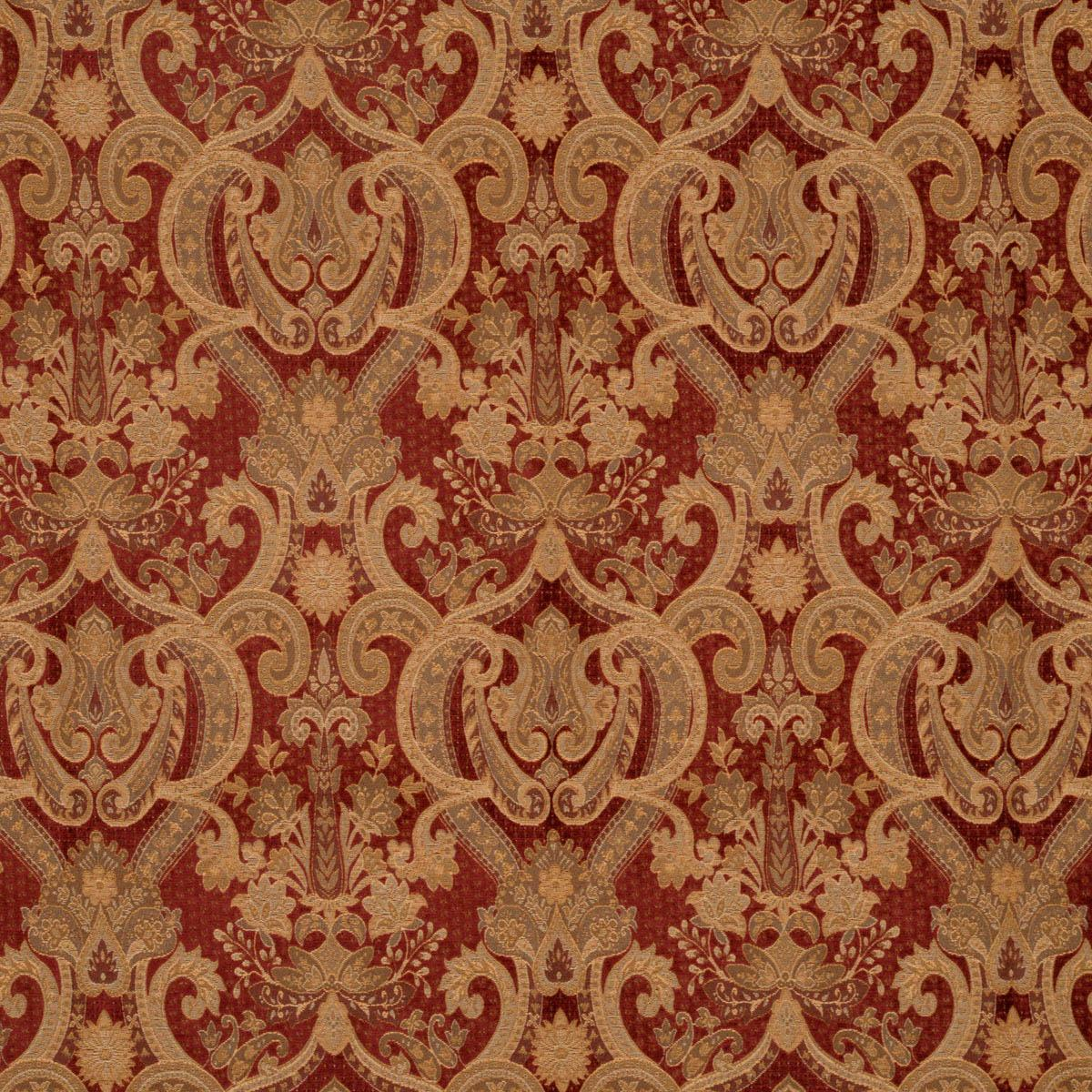 Grafton Curtain Fabric Red Great Range Of Affordable