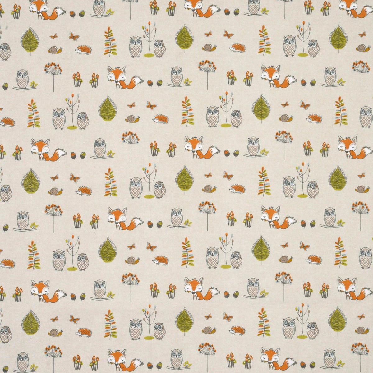 Woodland Curtain Fabric