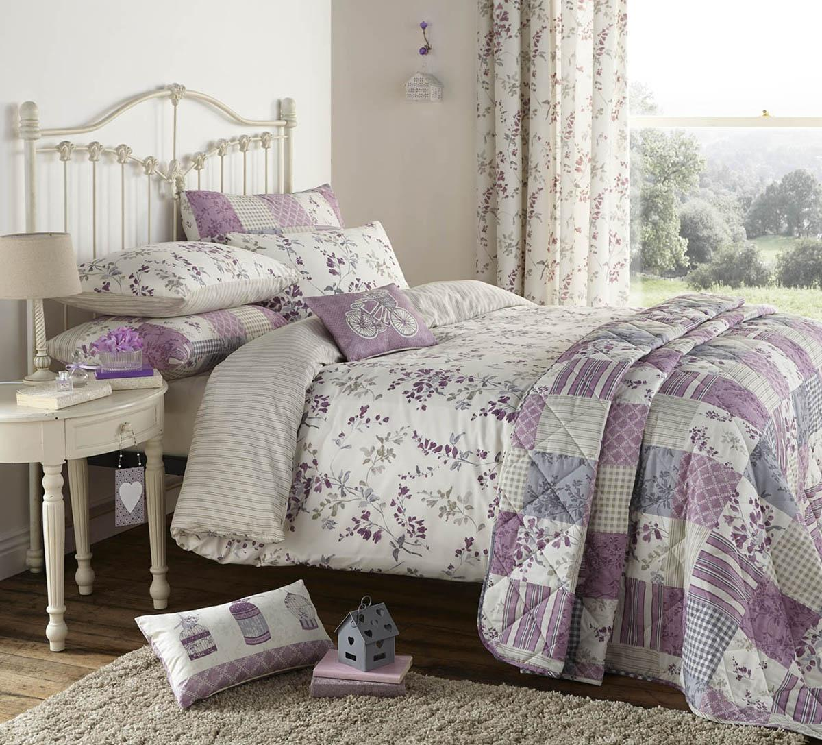 Lilac Lila Duvet Set